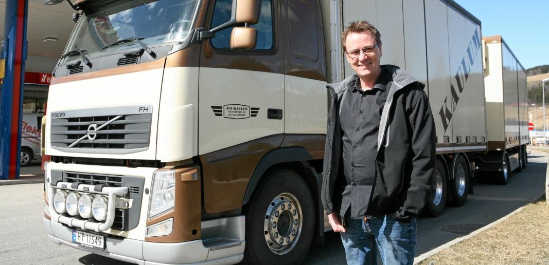 Charles Galaasen er selve navet for sjåførrekrutteringen til norsk transport- og lastebilbransje.
