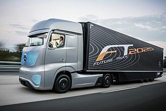 Selvkjørende lastebiler på offentlig vei