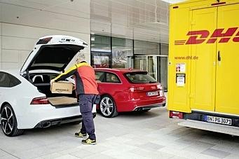 DHL vil gjøre Audi til postkasse