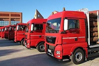 10% færre lastebiler i år enn i fjor