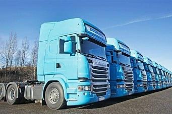 Postnord fikk 12 nye Scania Euro 6