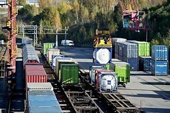 Trenger 100 milliarder til gods på bane