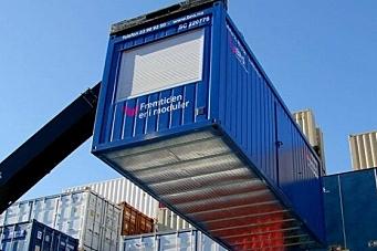 BNS med nytt containerløft