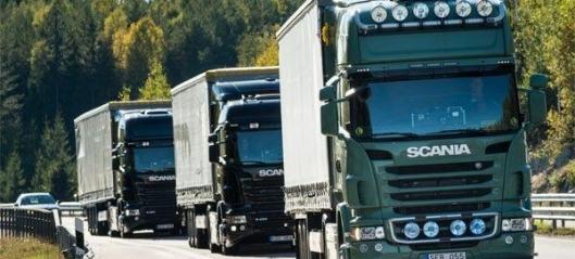 100.000 sammenkoblede Scania-er