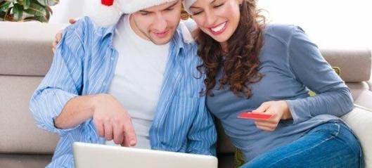 Handlet julegaver på nett for tre milliarder