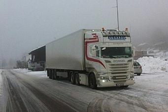 Norske sjåfører stanset i protest