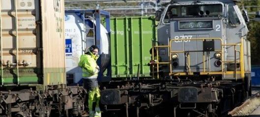 - Kritisk for godstransport på jernbane