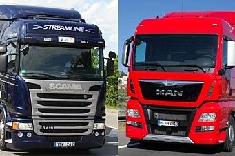 MAN og Scania med samarbeid