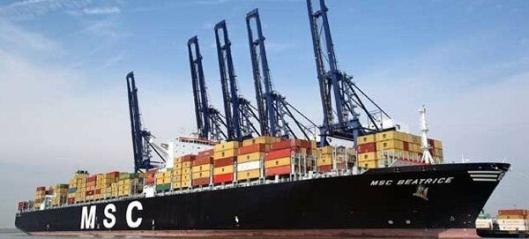 MSC kan gå forbi Maersk