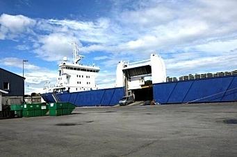 DFDS må droppe fraktrute