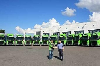 15 Volvo-trekkvogner til Bring