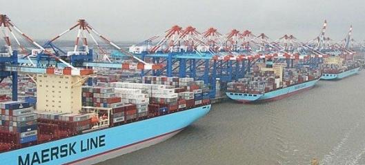 21,5 mrd. forsvant for Maersk