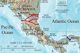 Maersk vil ha Nicaragua-kanal
