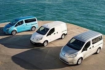 Dette koster Nissans elektriske varebil
