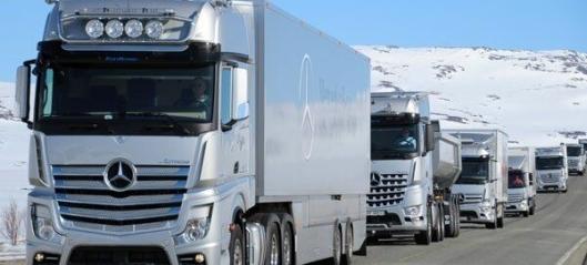 Mercedes-karavanen er i gang