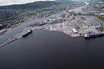 Nye linjer til Drammen Havn