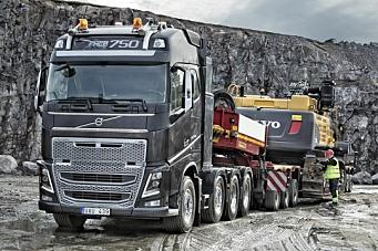 Salgsstart for Volvo FH16 Euro 6