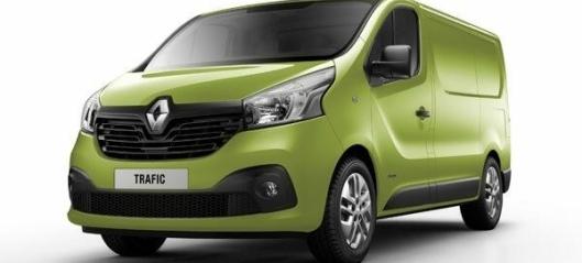 Klart for nye Renault Trafic