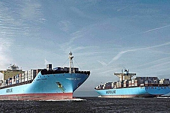 Maersk best i upålitelig bransje