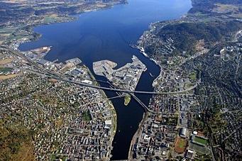 Containerrekord i Drammen