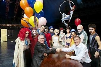 DHL skal sjonglere sirkuslogistikk