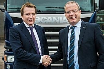 Kjøpte 1500 Scania Euro 6