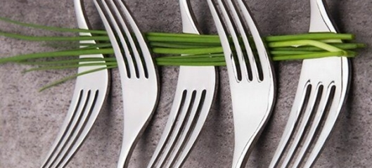 Med Apport på gaffelen