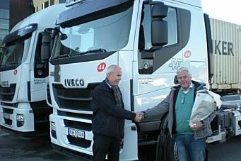 Mange Iveco til SH transport AS