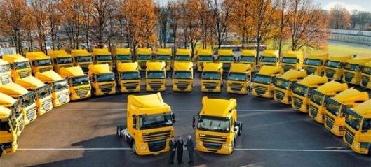 Bestilte 600 DAF-lastebiler
