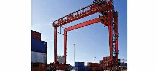 Åtte nye kraner til Oslo Havn