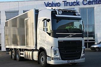 Første Volvo Euro 6 i Norge