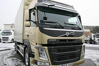 Sterk økning i Volvo-leveranser