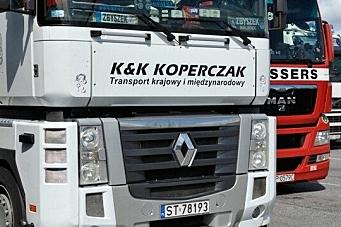 - Kjøring med tomme paller er ikke internasjonal transport