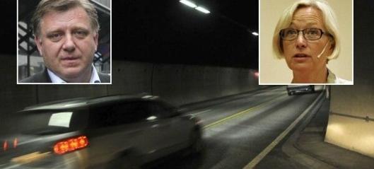 Mo og Arnstad i tunellduell