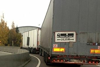 Krever gigantvogntog til Trondheim
