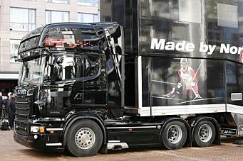 Scania på topp første halvår