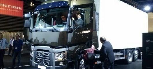 Mange nye lastebiler fra Renault