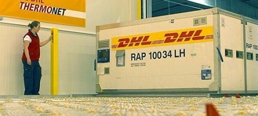 DHL med temperert flyfrakt