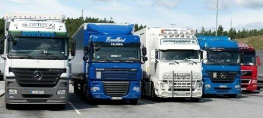 Polske lastebiler øker mest