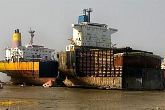 Skroter små skip i høyt tempo