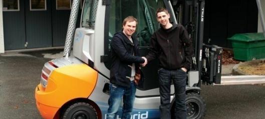 Norges første hybridtrucker