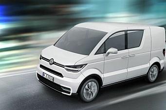 VW med elektrisk varebil