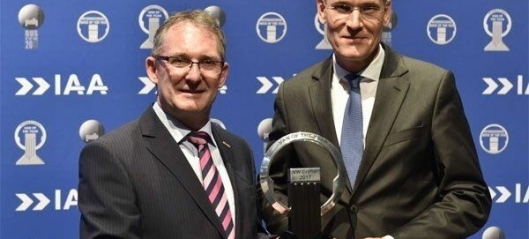 VW Crafter ble Van of the year 2017