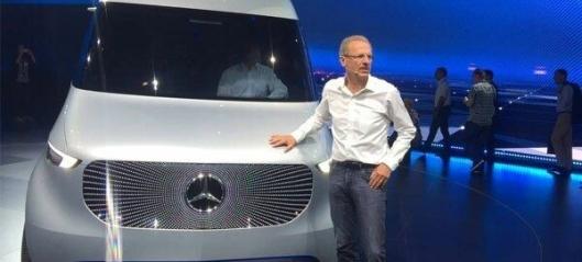 Ny varebil fra Mercedes-Benz