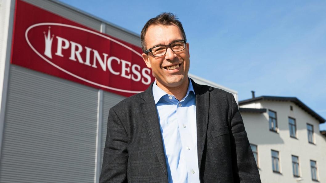 ENGASJERT: Direktør Kai Gulbrandsen ønsker at Princess skal være ledende innen samfunnsansvar.Foto: Øyvind Ludt