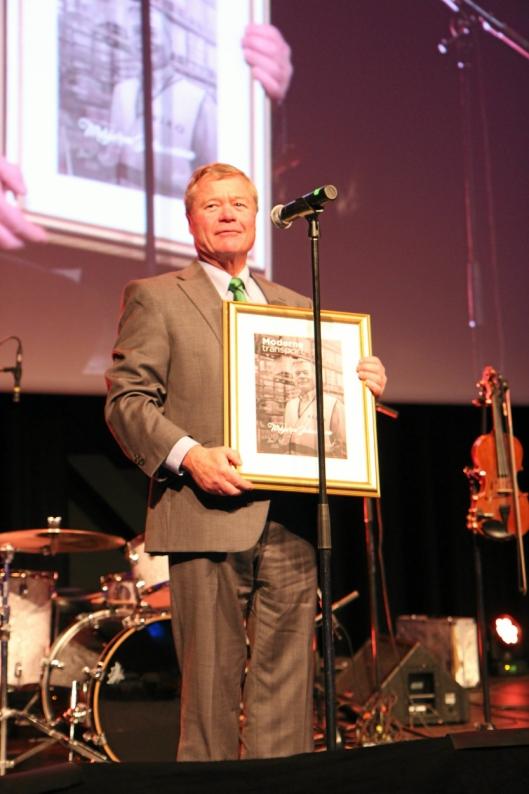 - Det er viktig å premiere tabbene, slik at folk tør å prøve, sa Torbjørn Johannson da han tok imot prisen mandag kveld.