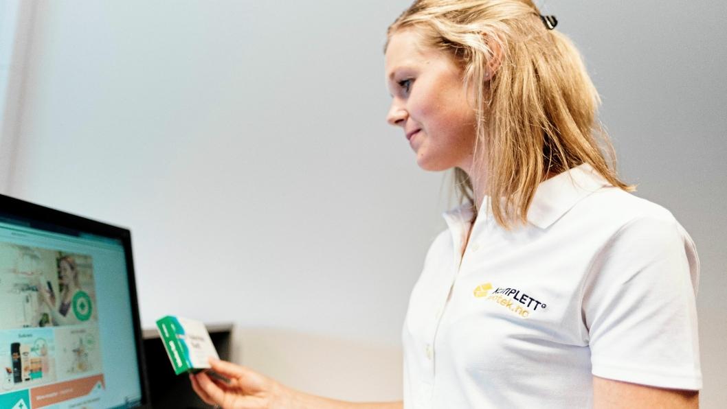 Komplett Apotek blir Norges første nett-apotek.