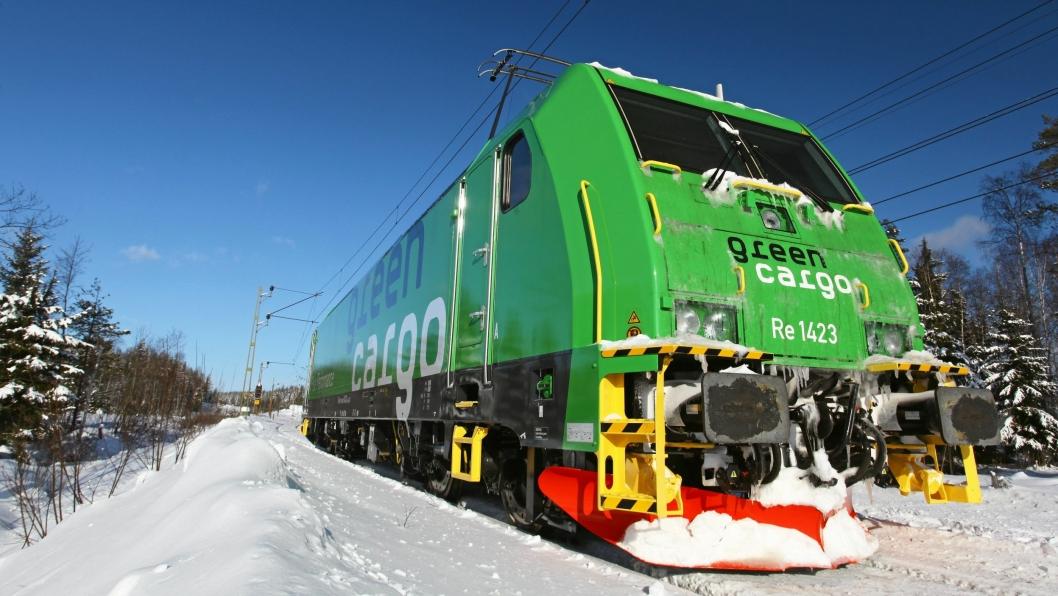 Green Cargo starter opp flere nye togpar fra desember.