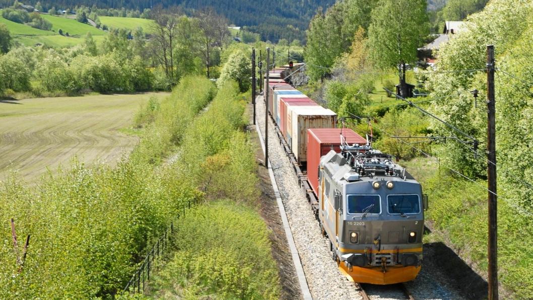 Lokførerstreiken har rammet godstrafikken til CargoNet hardt. Foto: Jernbaneverket.
