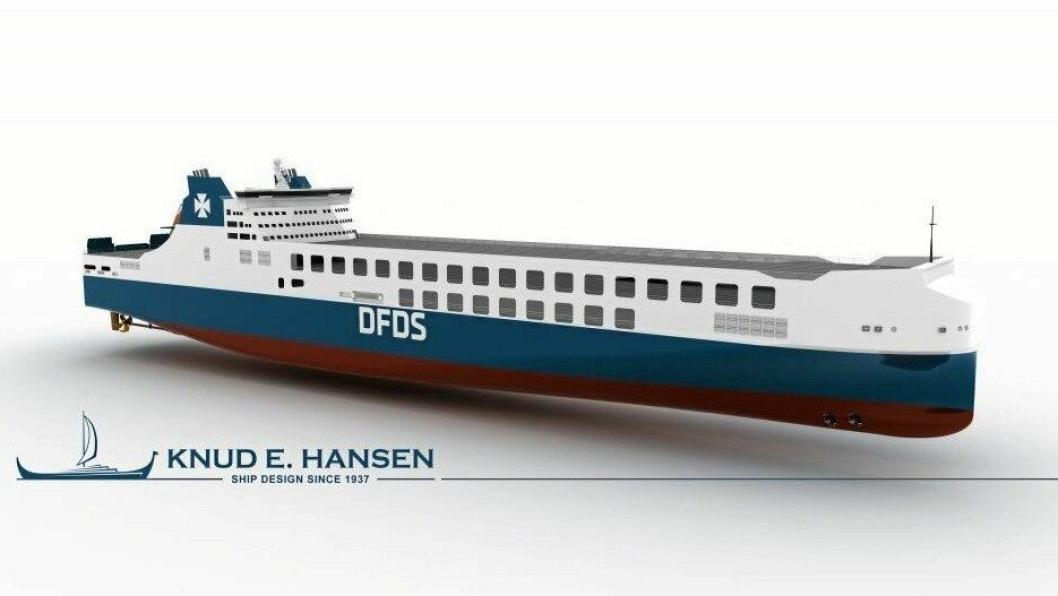 Skipene blir de største og mest miljøvennlige i DFDS' flåte.